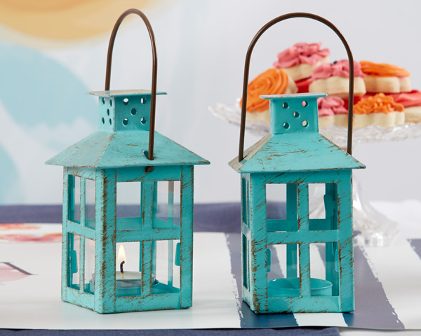 Vintage Blue Lantern