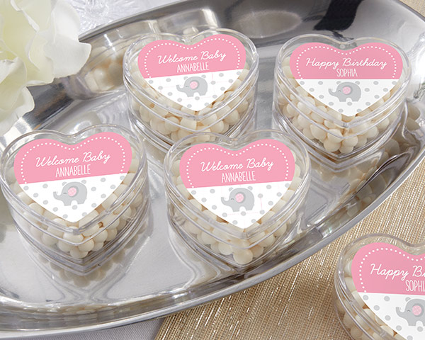 Heart Favor Container, Little Peanut: Set of 12