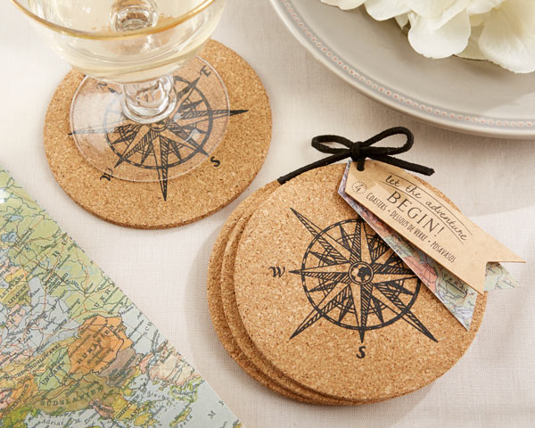 Let the Journey Begin, Cork Coasters