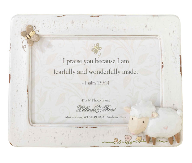 Lillian Rose Little Lamb 4 x 6 Frame