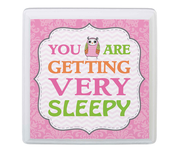 Lillian Rose Pink Owl Sleep Sign