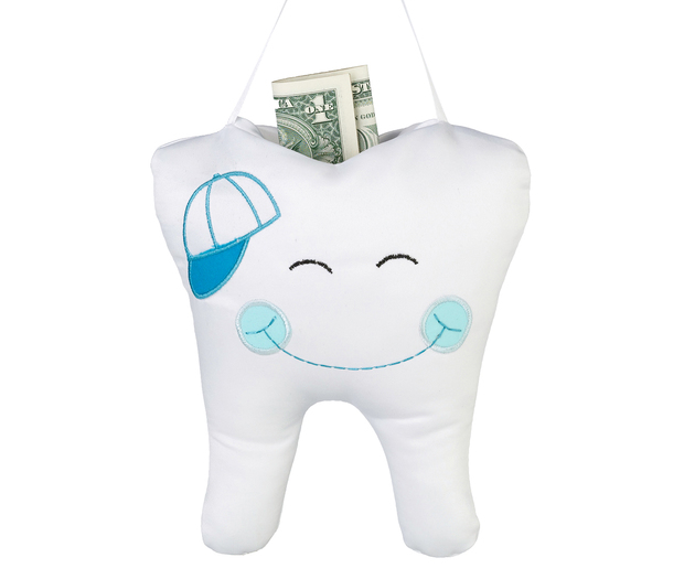 Lillian Rose Tooth Pillow - Blue