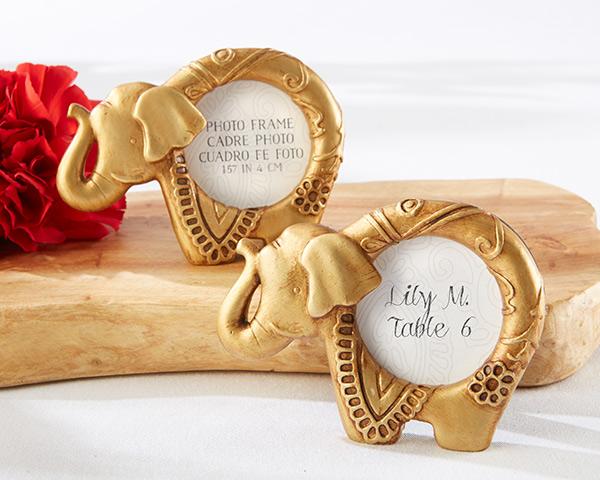 Lucky Golden Elephant Frame