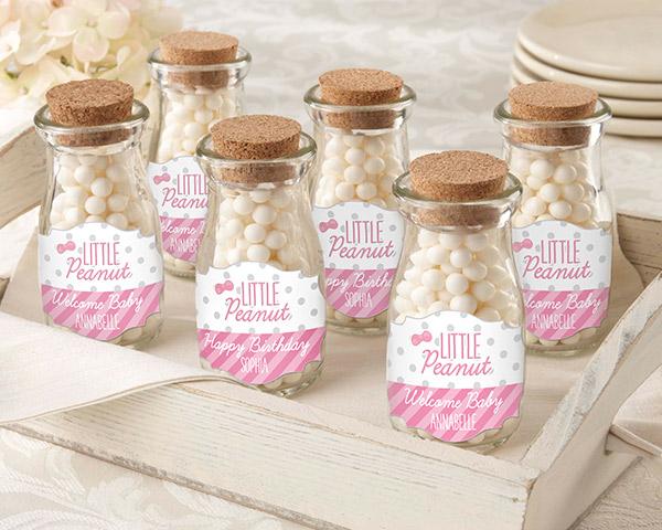 Personalized Milk Jar, Little Peanut: Set of 12 (CLON)