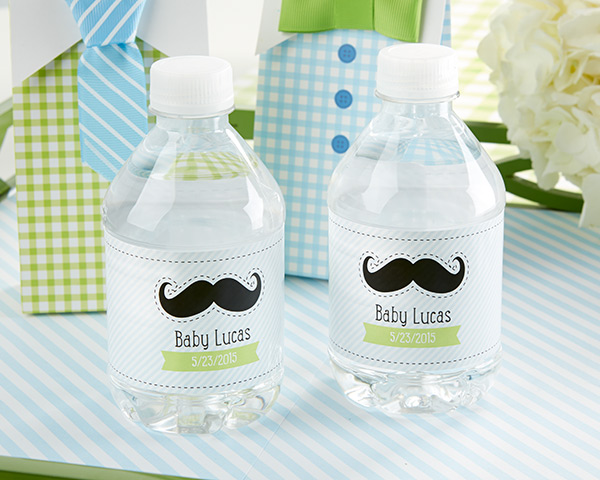Personalized Water Bottle Labels-Kate's, Little Man, Collection