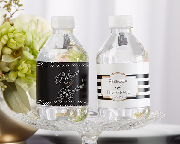 Personalized Water Bottle Labels: Classic