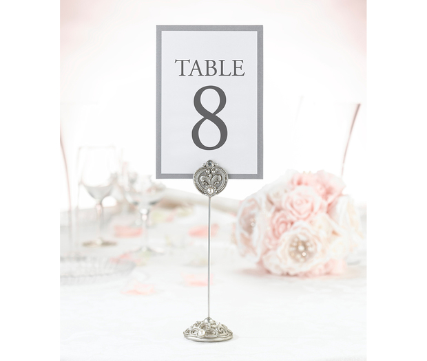 Lillian Rose Set of 4 Jeweled Table Markers