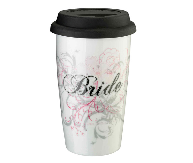 Lillian Rose Bride Ceramic Tumbler 12oz