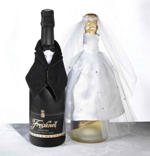 Lillian Rose Bride Bottle Cover