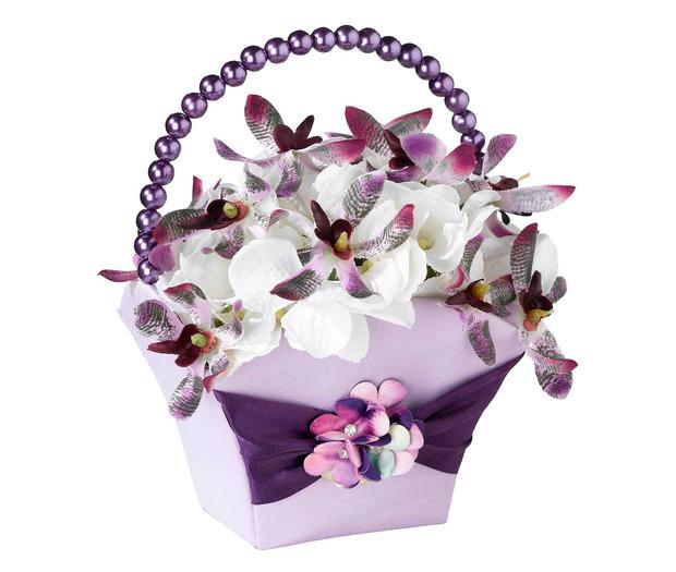 Lillian Rose Radiant Flower Basket