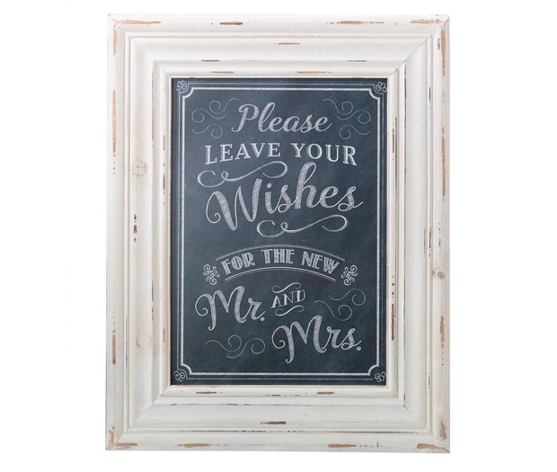 Lillian Rose Wishes Framed Sign Black