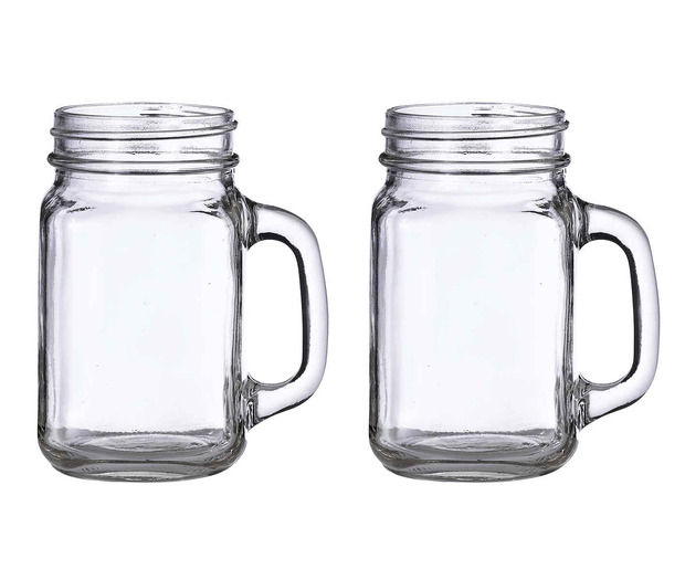 Lillian Rose Set of 2 Mason Jar Mugs