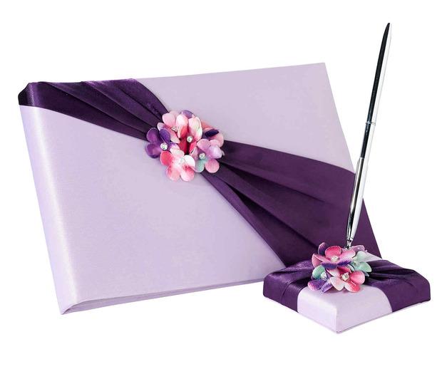 Lillian Rose Radiant Flower Book & Pen Set