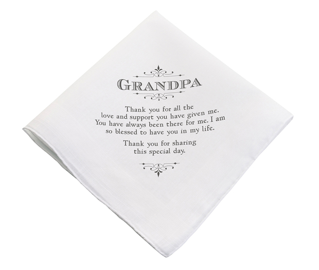 Lillian Rose Grandpa Hankie
