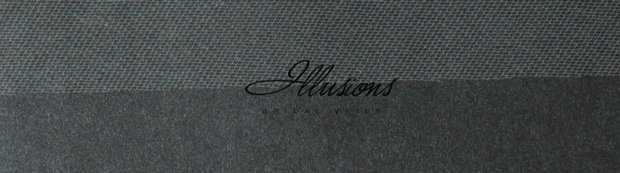 Illusions Bridal Cut Edge Wedding Veil 1-721-CT: Rhinestone Accent, Floor Length