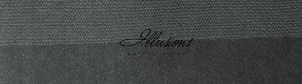 Illusions Bridal Cut Edge Wedding Veil 1-721-CT: Floor Length