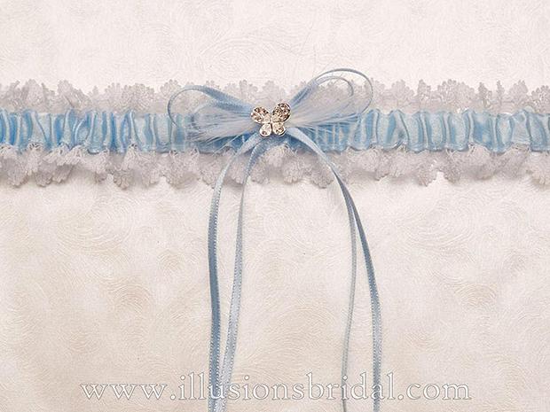 Illusions Bridal Bridal Garters and Purses 1003