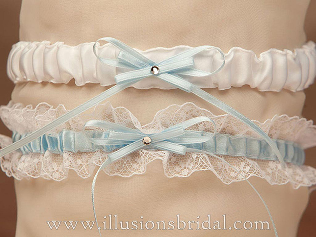 Illusions Bridal Bridal Garters and Purses 1015