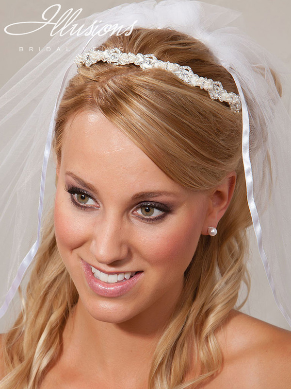 Illusions Bridal Headpieces 2849