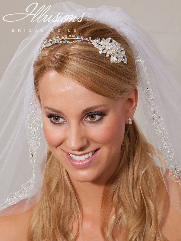 Illusions Bridal Headpieces 2861