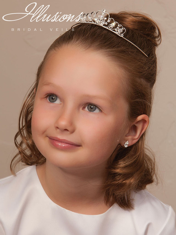 Illusions Bridal Flower Girl and First Communion Accessories 3195