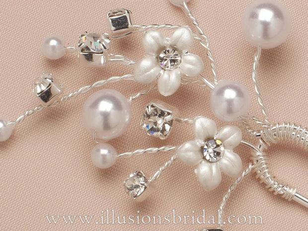 Illusions Bridal Hair Accessories 3282