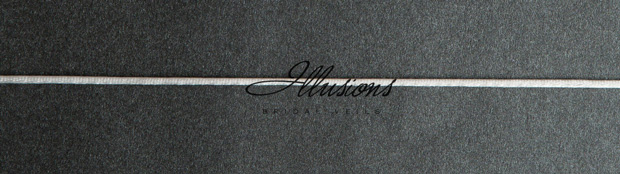 Illusions Bridal Rattail Edge Veil 5-151-RT: Rhinestone Accent
