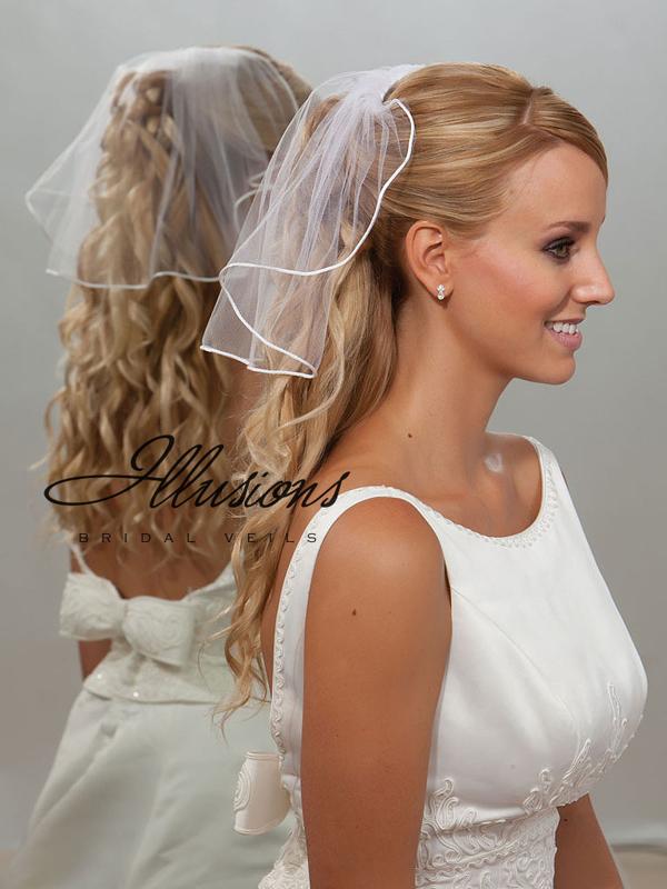 Illusions Bridal Rattail Edge Veil 5-151-RT