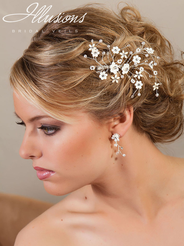 Illusions Bridal Hair Accessories 8214