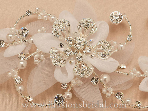 Illusions Bridal Hair Accessories 8248