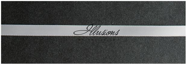 Illusions Bridal Ribbon Edge Wedding Veil C5-152-3R: 2 Tier, Rhinestone Accent