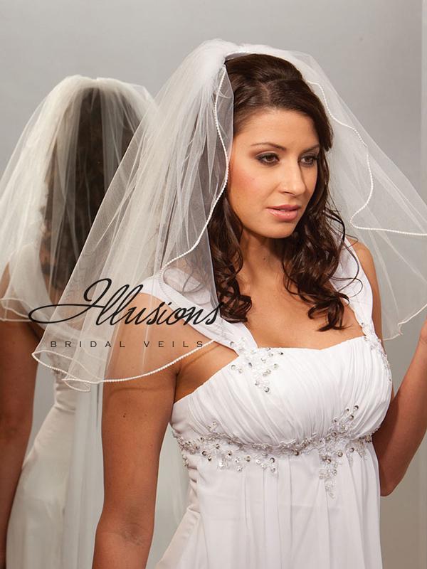 Illusions Bridal Rattail Edge Veil C7-202-RT
