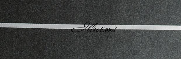 Illusions Bridal Ribbon Edge Veil C7-302-1R: Rhinestone Accent
