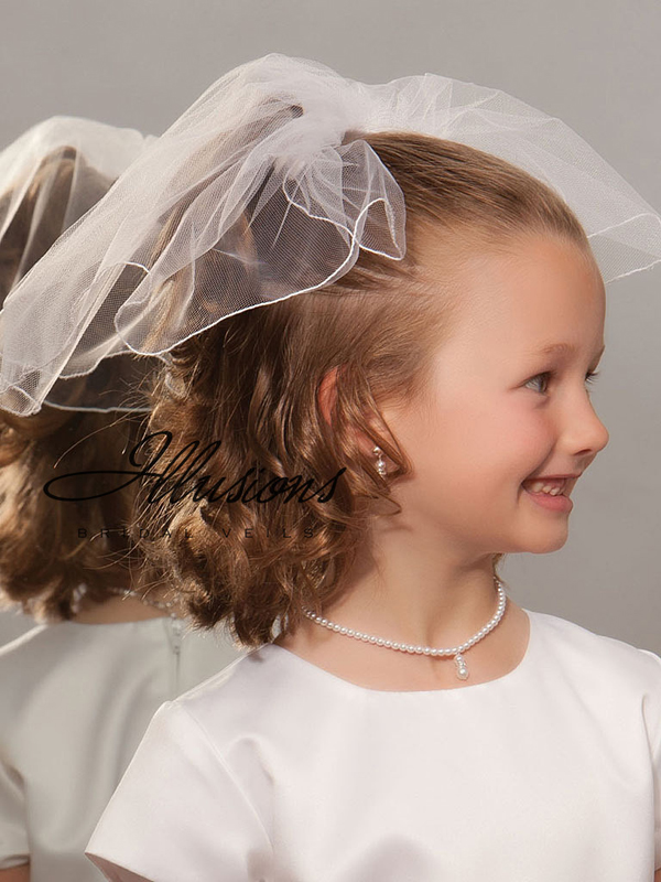 Illusions Bridal Flower Girl and First Communion Veils M-101-C