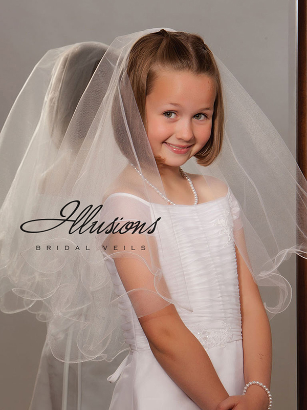 Illusions Bridal Flower Girl and First Communion Veils MFC-252-F