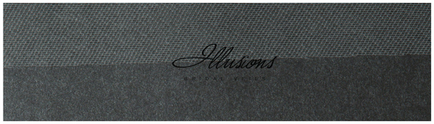Illusions Bridal Cut Edge Veil S1-202-CT: Pearl Accent