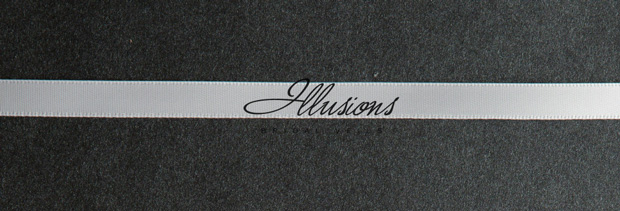 Illusions Bridal Ribbon Edge Veil S1-302-3R-RS: Rhinestone Accent