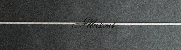 Illusions Bridal Rattail Edge Veil S1-452-RT: Rhinestone Accent