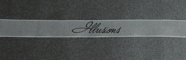 Illusions Bridal Ribbon Edge Veil S5-202-SR-RS: Pearl Accent