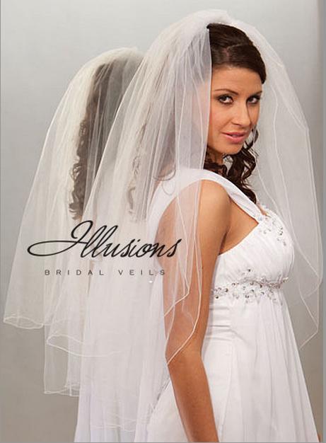 Illusions Bridal Corded Edge Veil S7-362-C