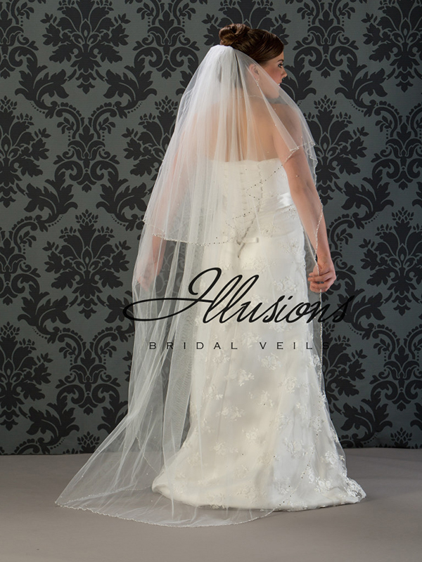 Illusions Bridal Beaded and Specialty Veils V-7022