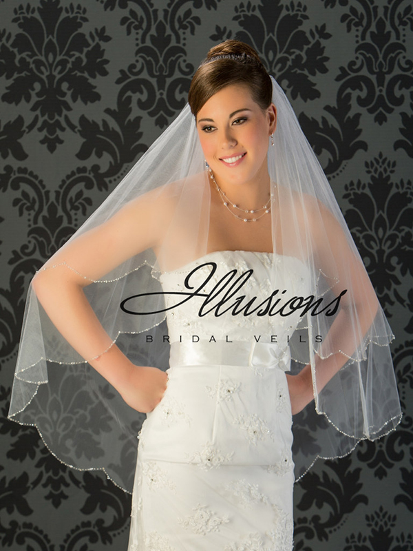 Illusions Bridal Beaded and Specialty Veils V-743