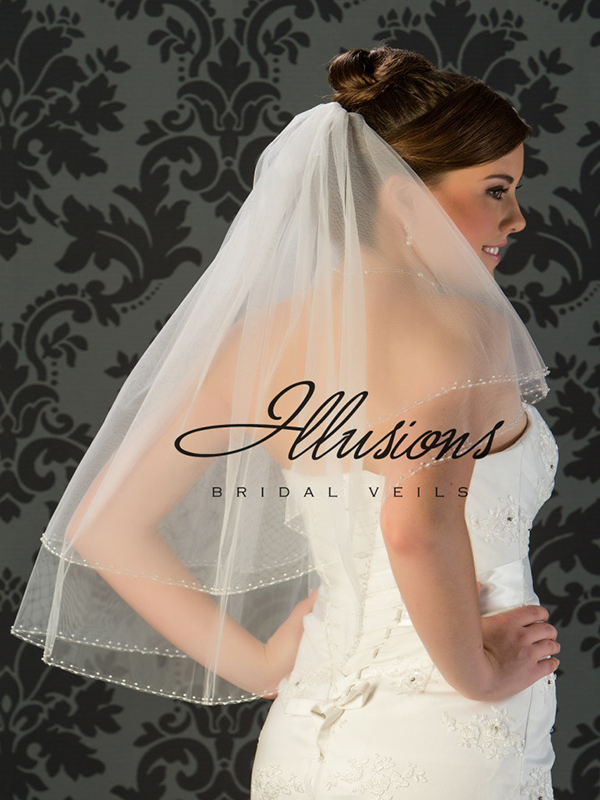 Illusions Bridal Beaded and Specialty Veils V-773
