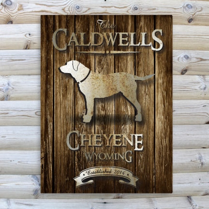 JDS Cabin Canvas Prints: Rustic Wood
