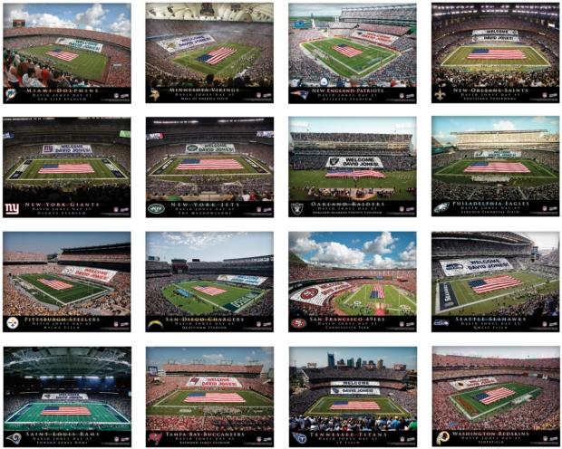 JDS Canvas Prints: NFL Stadium