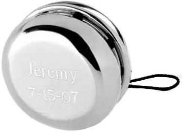 JDS Personalized Yo Yo: Silver