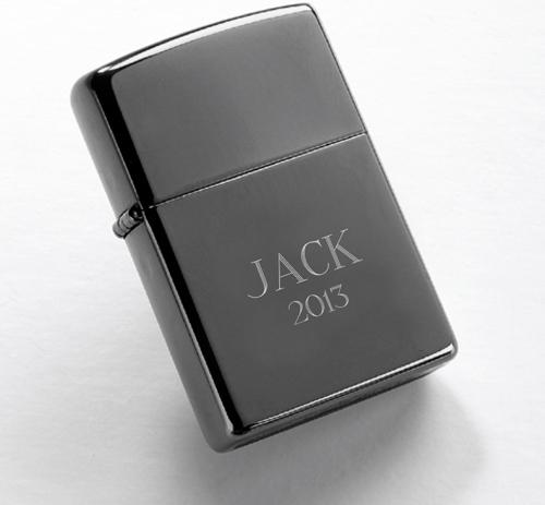JDS Zippo Lighter: Black Ice
