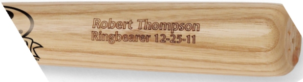 JDS Personalized Baseball Bat: Rawlings, Mini
