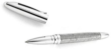 JDS Woven Metal Pen