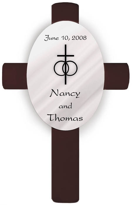 JDS Personalized Wedding Crosses